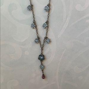 Avon flower necklace